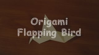 Origami Flapping Bird (   )