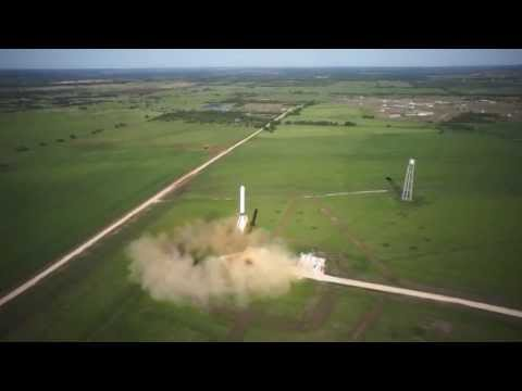 SpaceX Grasshopper 250m Test