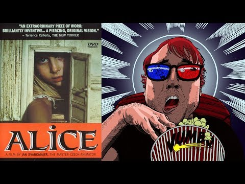 Alice (1988) Movie Review || Alice's Stop Motion Nightmare Adaptation?