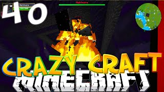 """Minecraft CRAZY CRAFT 3.0 #40 """"NIGHTMARE DUNGEON!"""" (Crazy Craft SMP)"""