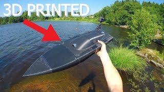 BIG 3D Printed RC Speed Boat