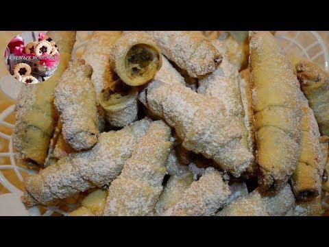 Сахарные Трубочки Ну Очень Вкусные