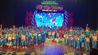 Lễ tốt nghiệp trường Mầm non bé Ngoan - năm học 2017-2018