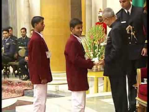 National Bravery Award recipients felicitated