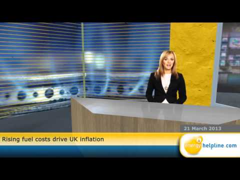 Rising fuel costs drive UK inflation