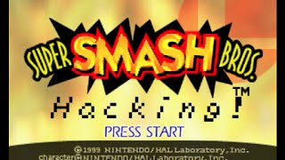 Super Smash Brothers 64 HACKED!