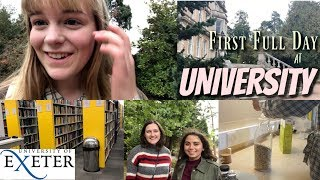 My First Full Day at University!