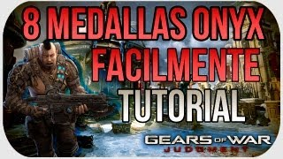 Gears Of War Judgment: ¡Consigue 8 Medallas Onyx Facilmente! - Tutorial HD