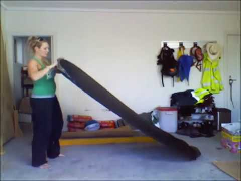Spray Tan Tent Folding Instructions - How to Fold A Spray Tanning Tent