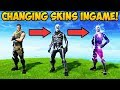 CHANGING SKINS IN GAME Fortnite Funny Fails And WTF Moments 294 mp3
