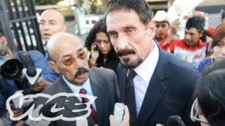 John McAfee States Alibi on the Record, Retains Lawyer