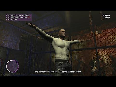 GTA 4 - The Ballad of Gay Tony - L.C. Cage Fighter [Bear Fight]