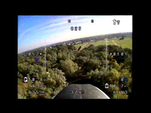 Maiden flight with my Fatshark Attitude Goggles
