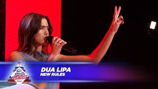 Dua Lipa New Rules Live At Capital S Jingle Bell Ball 2017