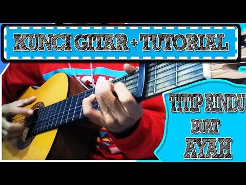 Kunci Gitar Titip Rindu Buat Ayah