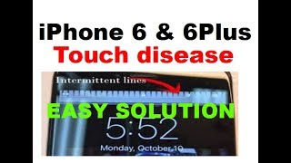 iPhone 6 Plus touch disease final solution (solved)