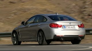 BMW 4er Gran Coupé 2015 / New BMW 4 Series Gran Coupe - driving scenes & sound