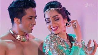 Russia's Got Talent | KATHAK Bollywood | Jag Ghoomeya | Sultan | Kumar Sharma & Svetlana Tulasi