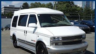 1997 Chevrolet Astro Starcraft Camper Van for sale in Vancouver, BC, Canada
