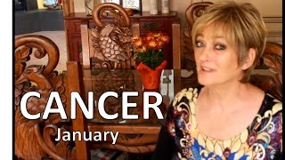 CANCER January 2017 ASTROLOGY - HOROSCOPE - Awesome Start of Your Year!