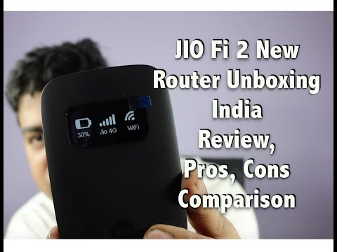 Hindi   JIO Fi 4G New Router India Unboxing and Review. Pros. Cons. Comparison   Gadgets To Use