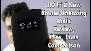Hindi | JIO Fi 4G New Router India Unboxing and Review, Pros, Cons, Comparison | Gadgets To Use