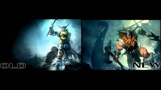 Evolution of Champion Splash arts in League of Legends