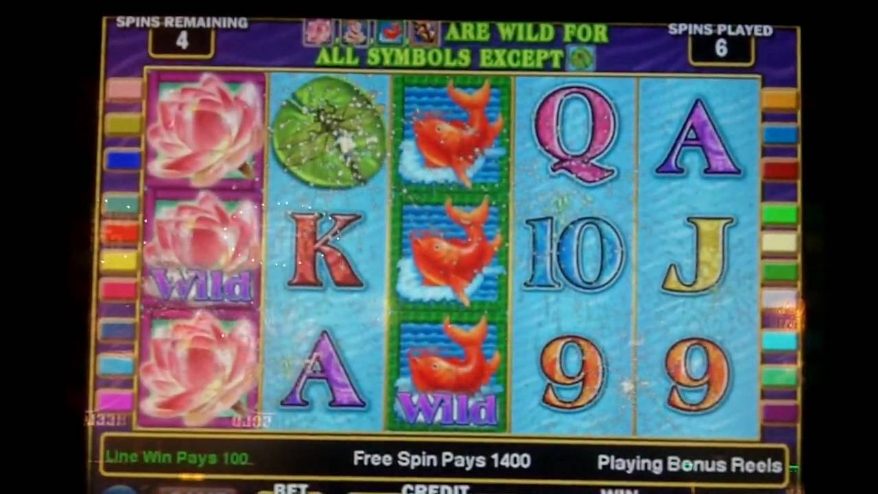 play lotus flower slot machine