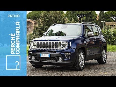 Jeep Renegade 2018  Perché comprarla e perché no