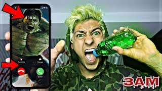 Download Song DO NOT DRINK HULK POTION AT 3AM!! *THE HULK CHALLENGE* Free StafaMp3
