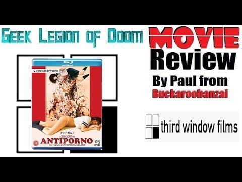 ANTIPORNO ( 2016 Ami Tomite ) Aka Anchiporuno. Sexploitation Cult Movie Review