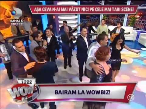 Jean de la Craiova - Hai cu totii sus paharu ( LIVE la WowBiz 22.11.2012 )