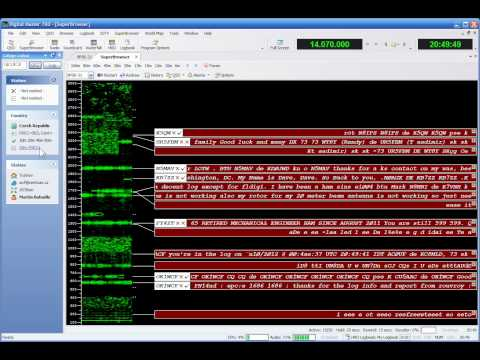 PSK via Ham Radio Deluxe