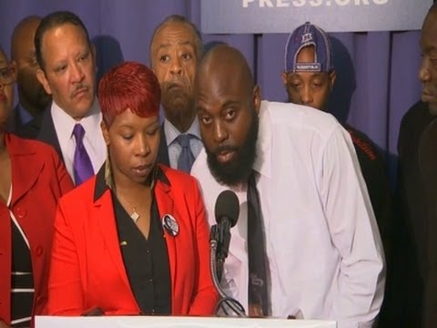 Michael Brown, Eric Garner Families Speak in DC