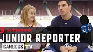 Junior Reporter, with Alex Burrows