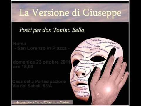 Presentazione a Roma – La Versione di Giuseppe Poeti per don Tonino Bello -
