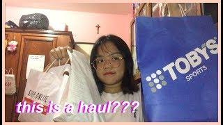 a haul... actually me trying to be a fashion guru