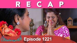 RECAP : Priyamanaval Episode 1221, 19/01/19