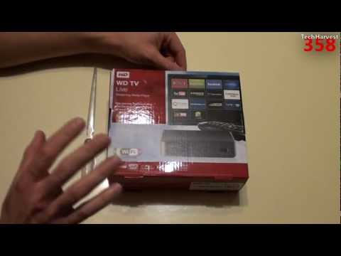 Western Digital WDTV Live Streaming Media Player: Unboxing
