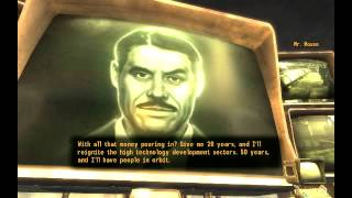 Fallout New Vegas: Robert House's Plan For the Future