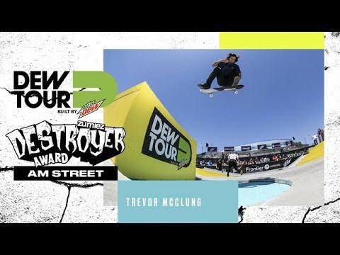 Trevor McClung Am Street Zumiez Destroyer Award