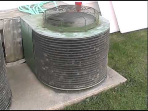 Another Hvac Video Old Working Singer Air Conditioning