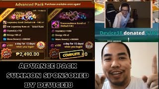 Summoners War Device18 Poping My F2P Virginity 😂