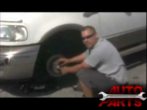 2003 F-150 Replacing Front Brakes and Rotors Part 1