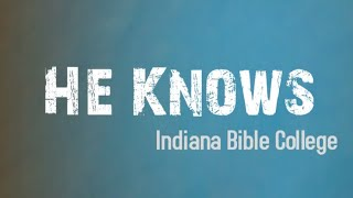 Watch Indiana Bible College Why I Sing video