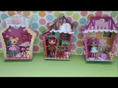 mini lalaloopsy shoppes 5-8 REVIEW