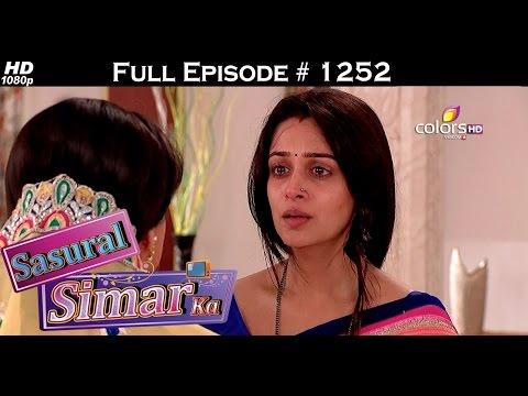 Sasural Simar Ka - 8th August 2015 - ससुराल सीमर का - Full Episode (HD) thumbnail