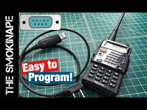 How to Program a Baofeng HAM Radio for Repeaters with Chirp - TheSmokinApe