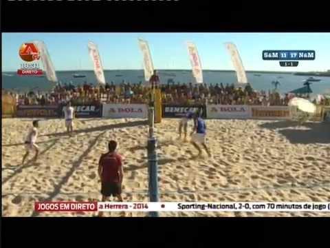 Final do Campeonato Nacional de Futev�lei 2014 - Ferragudo, Lagoa