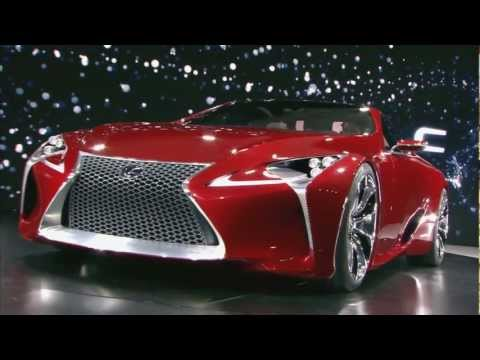 Lexus LF-LC Concept Vehicle - Official Unveiling